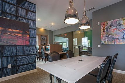 indoor amenities at Griffis Lakeline Station apartments in Austin