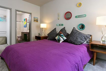 Premium Griffis Westminster Center bedroom with private bathroom and walk-in closet