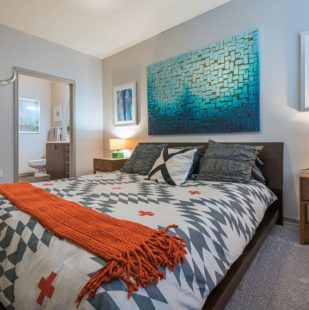 Griffis Lakeline Station Luxurious Bedroom in Austin, Texas Apartment Home