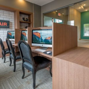 Professional Business Center with iMacs - Griffis Lakeline Station