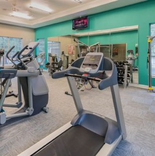 24-Hour Fitness Center and Yoga Room at Griffis Lakeline Station Austin, Texas