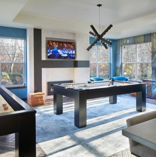 North Creek Apartment Community Clubhouse Gaming Room in Bothell, Washington