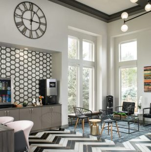 Gourmet Coffee Bar at Apartment Clubhouse in Colorado Springs - Griffis Sagebrook