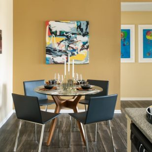 dining area at Griffis Sagebrook apartments in Colorado Springs
