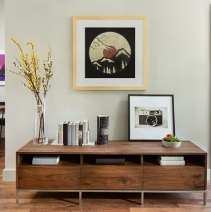 Downtown Denver Modern Apartment Home Interior - Griffis North Union
