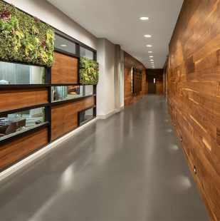 Griffis Cherry Creek Renovated Clubhouse Entry With Living Wall