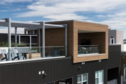 balcony apartments at Griffis Cherry Creek North in Denver